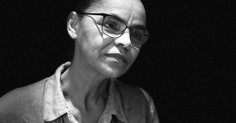 A candidata da Rede, Marina Silva.