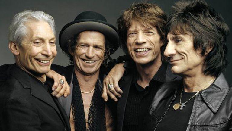 Charlie Watts, Keith Richards, Mick Jagger e Ron Wood.