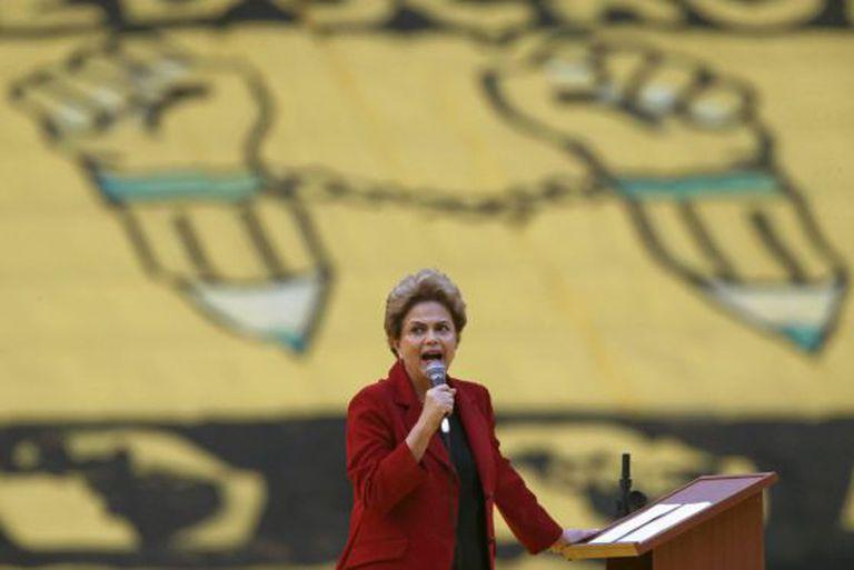 Dilma Rousseff, no início de agosto.