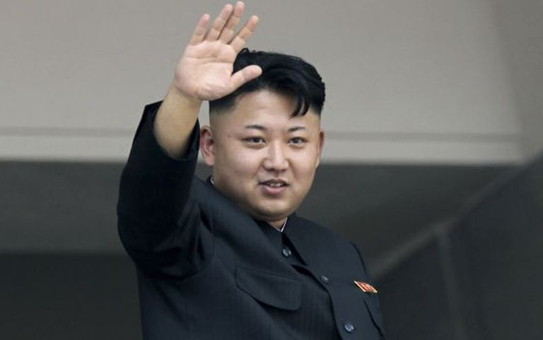 O ditador Kim Jong-un.