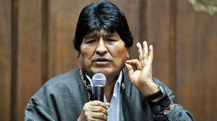 Evo Morales, ex-presidente boliviano, na Cidade do México.