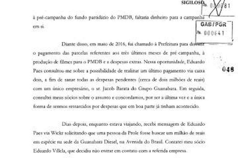 Em proposta de delação, marqueteiro revela acerto com Paes para receber pagamento dissimulado e ajudar na campanha de Pedro Paulo
