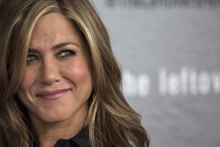 A atriz Jennifer Aniston.