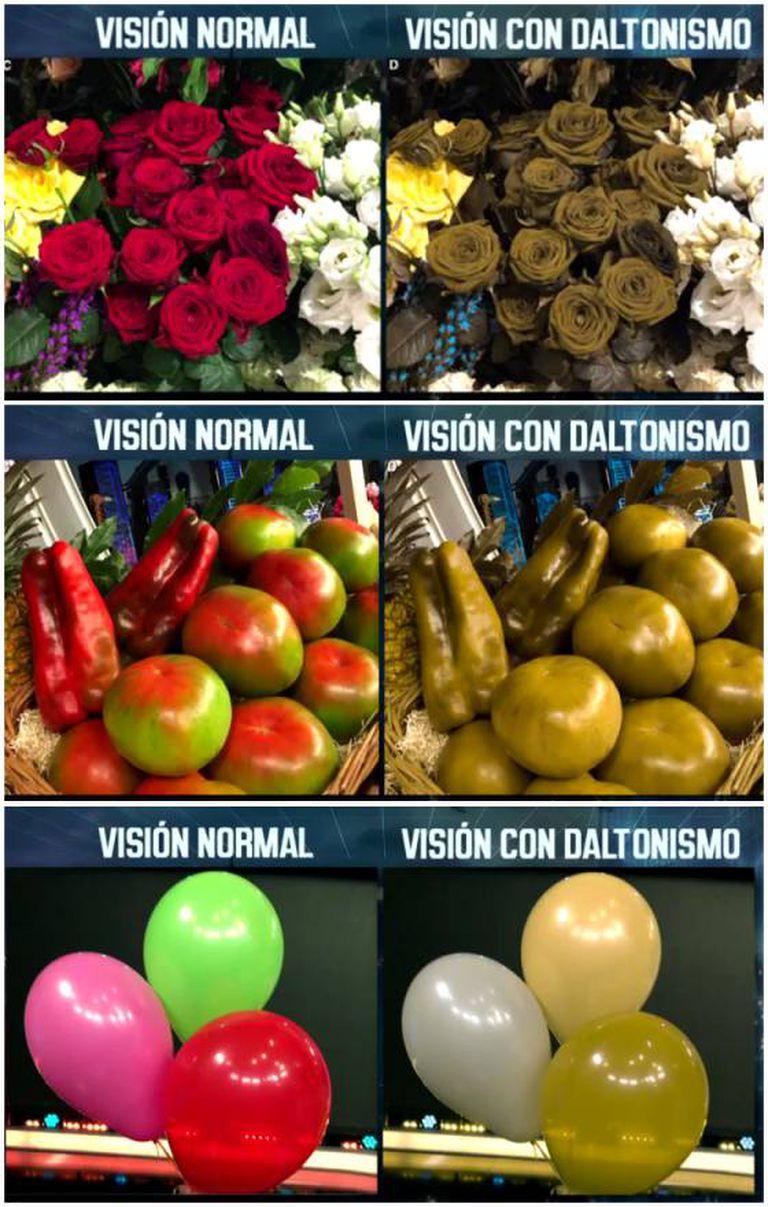 Como veem os daltônicos