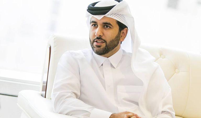 Saif Ahmed Al Thani, durante a entrevista em Doha, na quinta-feira.