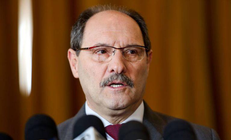 O governador do Rio Grande do Sul, José Ivo Sartori, em agosto de 2015.