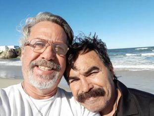 Luiz (à esquerda) e Miguel.