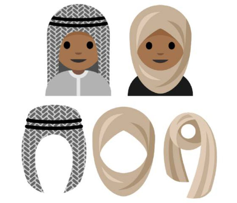Os desenhos incluídos na proposta ao consórcio Unicode