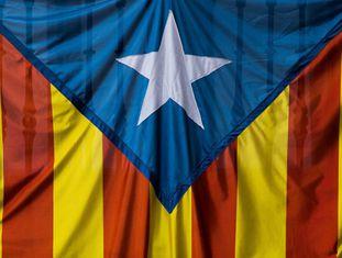 Bandeira pro-independência da Catalunha
