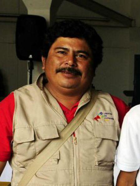 O jornalista Gregorio Jiménez