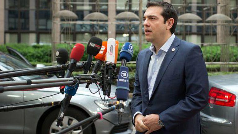 Alexis Tsipras, primeiro-ministro da Grécia, no último domingo em Bruxelas.
