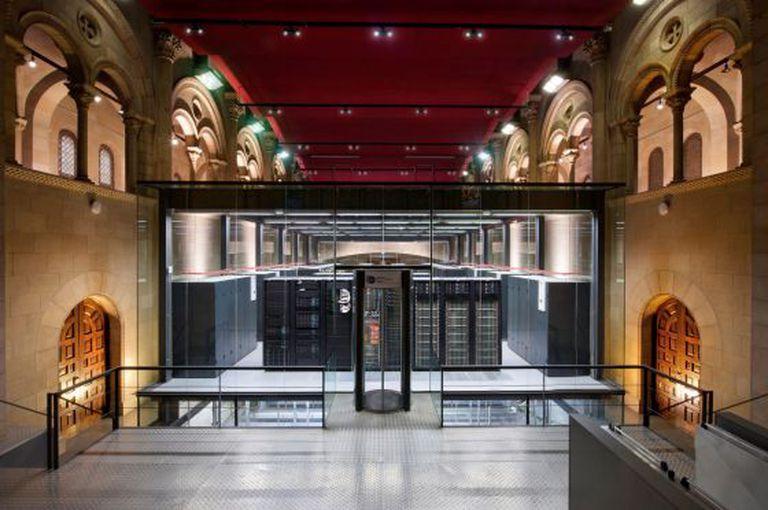 Supercomputing Center de Barcelona, um centro pioneiro que abriga o supercomputador MareNostrum.