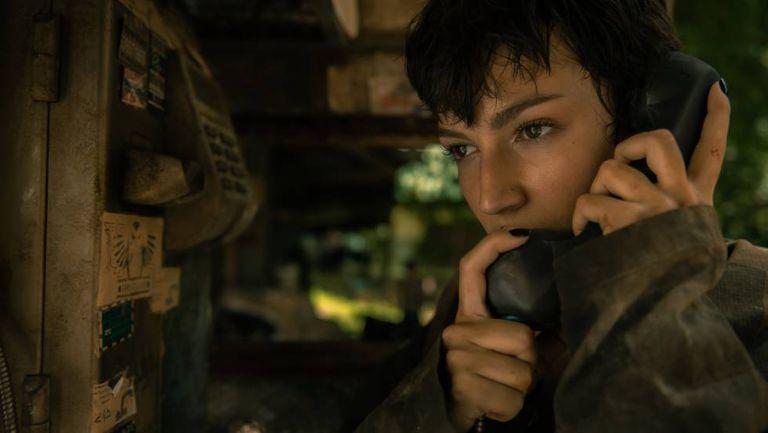 Úrsula Corberó, no primeiro capítulo da terceira temporada de 'La Casa de Papel'.