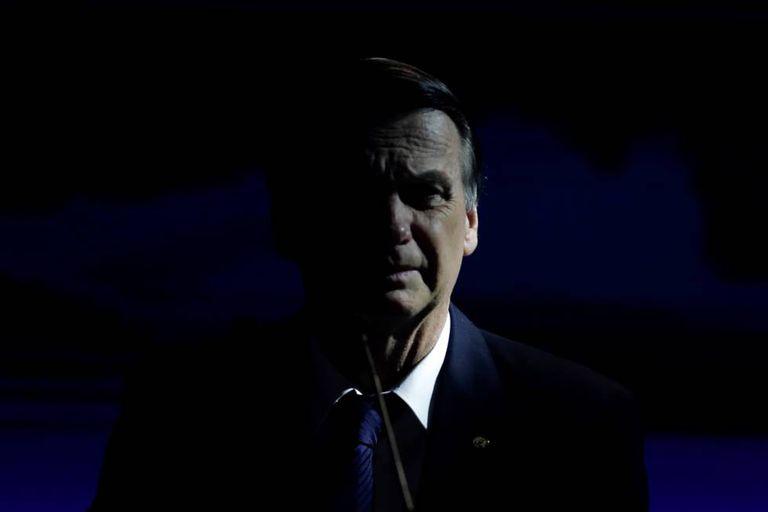 O candidato presidencial Jair Bolsonaro, em 9 de agosto de 2018.