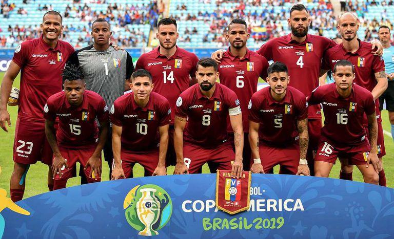 Seleção venezuelana estreou contra o Peru na Copa América.
