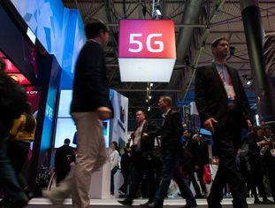 Os avanços do 5G em um stand do MWC 2017 de Barcelona