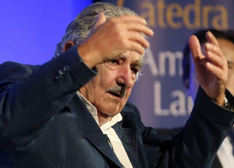 José Mujica, na sexta-feira em Madri.
