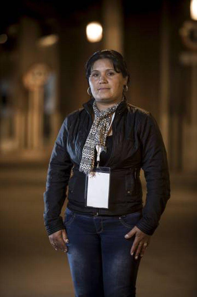 Milena Ascanio, na quarta-feira, em Bogotá.