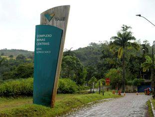 Entrada da mina Gongo Soco, em Barão de Cocais, município que teve moradores evacuados após risco de rompimento na sexta-feira.