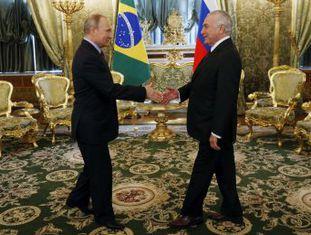 Em Moscou, Temer promete esforço para acordo do Mercosul com bloco que inclui Rússia. Comércio bilateral caiu 11% em 2016