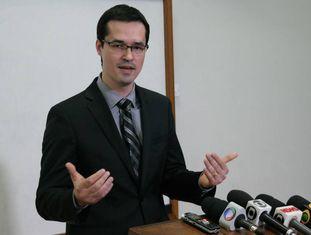 O procurador Deltan Dallagnol.