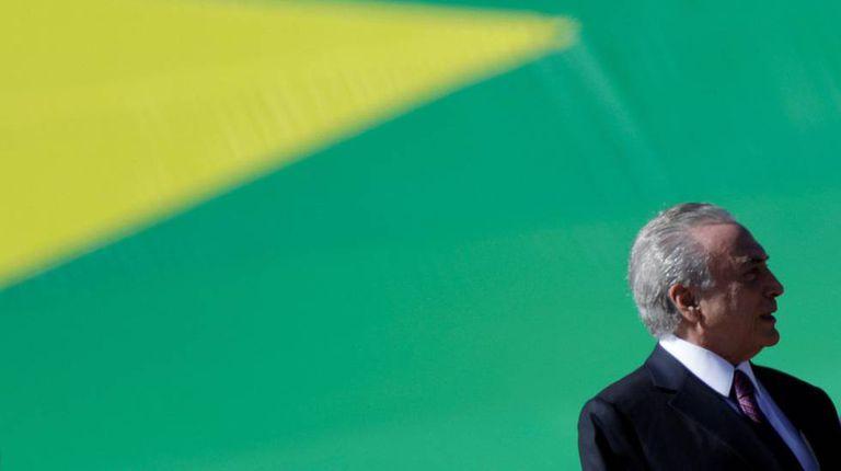 Michel temer, em evento da Marinha no dia 9, em Brasília.