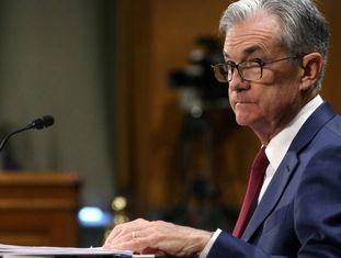 Jerome Powell, presidente do Federal Reserve.