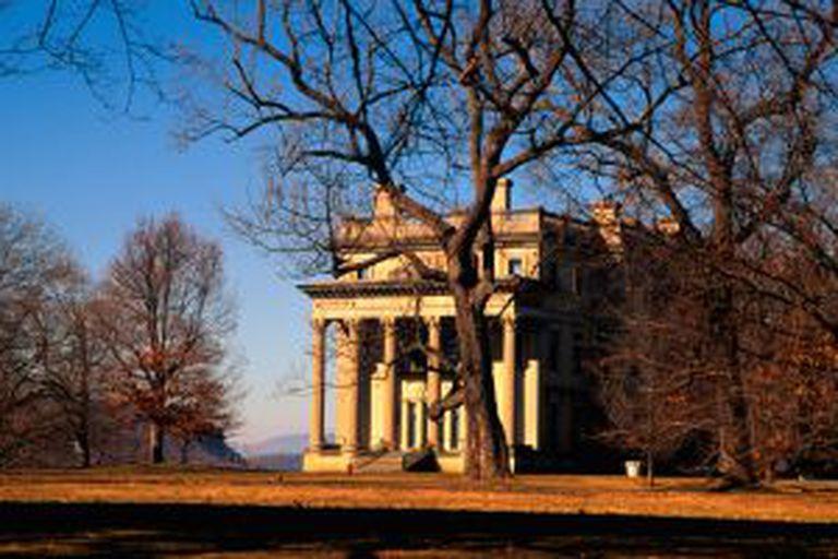 Mansão Vanderbilt, do século XIX, em Hyde Park (Nova York).
