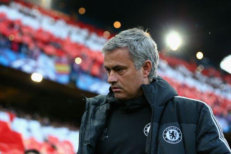 Mourinho, depois da partida.