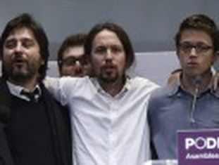 Pablo Iglesias se afirma como o secretário-geral da legenda que, com 10 meses de vida, se torna a opção ao bipartidarismo espanhol
