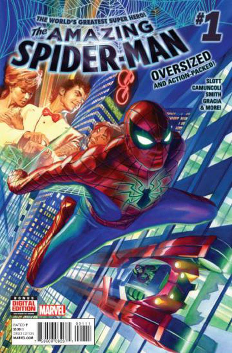 O novo Peter Parker da banda desenhada.