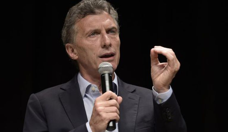 Mauricio Macri em Buenos Aires.