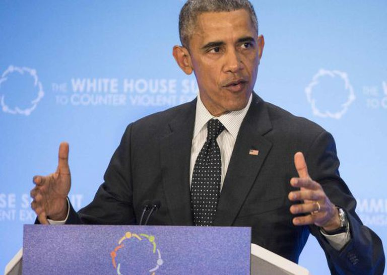 Obama na Cúpula contra o Extremismo Violento.