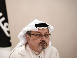 Jamal Khashoggi, em dezembro de 2014.