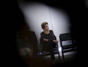A presidenta Dilma, nesta quarta no Palácio.
