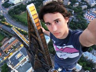 Kirill Oreshkin, o rei do 'selfie' radical.
