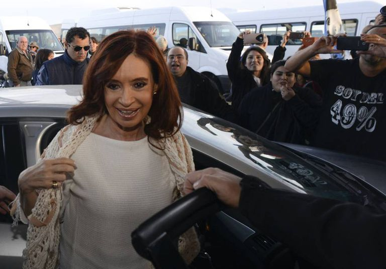 A ex-presidenta argentina, Cristina Kirchner.