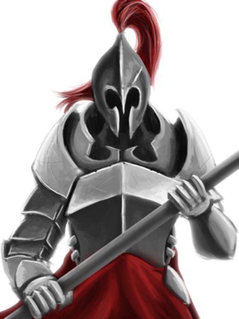 Um cavaleiro do botão, responsável pelo contador não zerar.