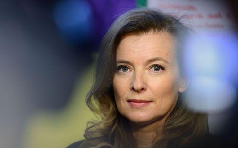 Valérie Trierweiler, casal de Hollande.