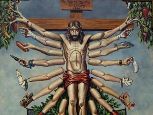 Cruzando Jesus Cristo Deusa Schiva, de Fernando Baril.