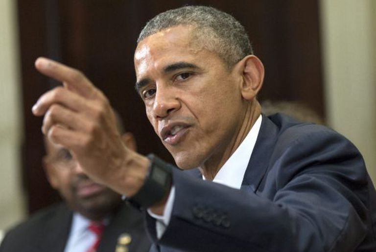 O presidente dos EUA, Barack Obama, que impôs sanções à Venezuela.