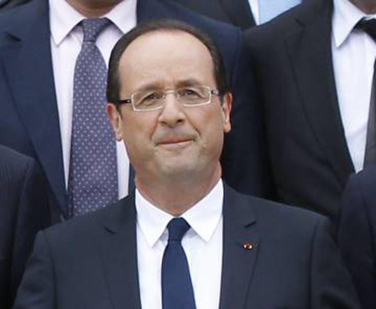 François Hollande, em 2014.