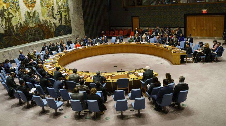 Sessão do Conselho de Segurança das Nações Unidas