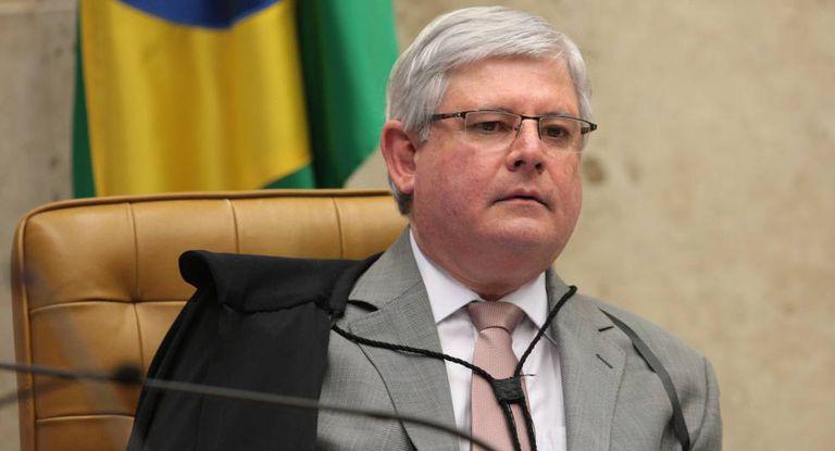 Rodrigo Janot durante sessão do STF.
