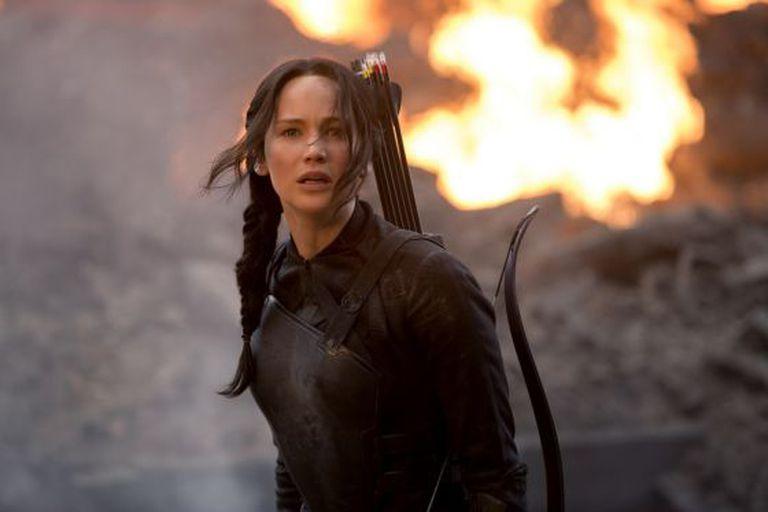 Jennifer Lawrence, em uma cena do filme.