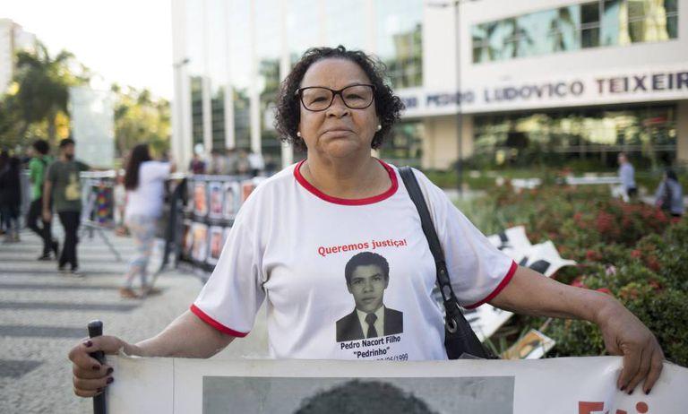 Pedro Narcot, filho de Maria das Graças, foi executado com 36 tiros em 1999, no Espírito Santo.