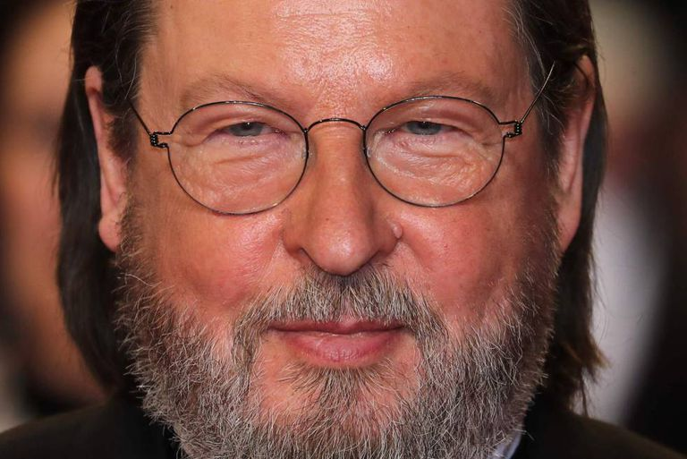 Lars Von Trier, nesta segunda em Cannes, antes da projeção de 'The House that Jack Built'.