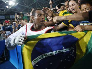 Maicon Andrade leva o bronze no taekwondo