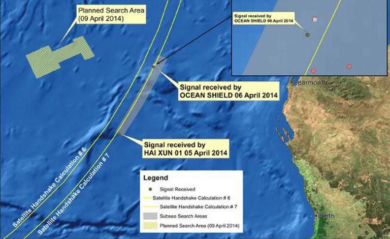 Imagem da Autoridade Australiana de Segurança Marítima divulgada na quarta.