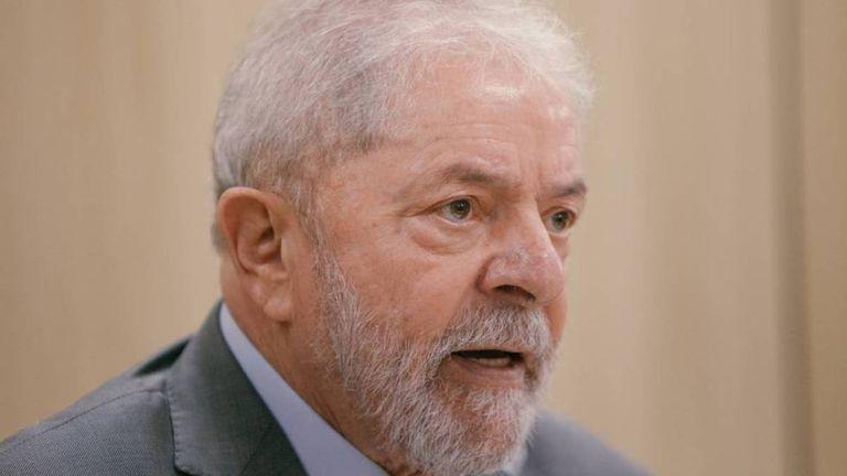 O ex-presidente Lula, em entrevista ao EL PAÍS, em junho.